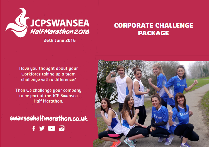 Companies Get Set To Lace Up For The Next Edition Of The Swansea Half Marathon Corporate Challenge
