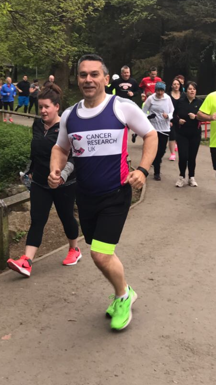 Charity Champion tells us why he's  Running Swansea for Cancer Research UK