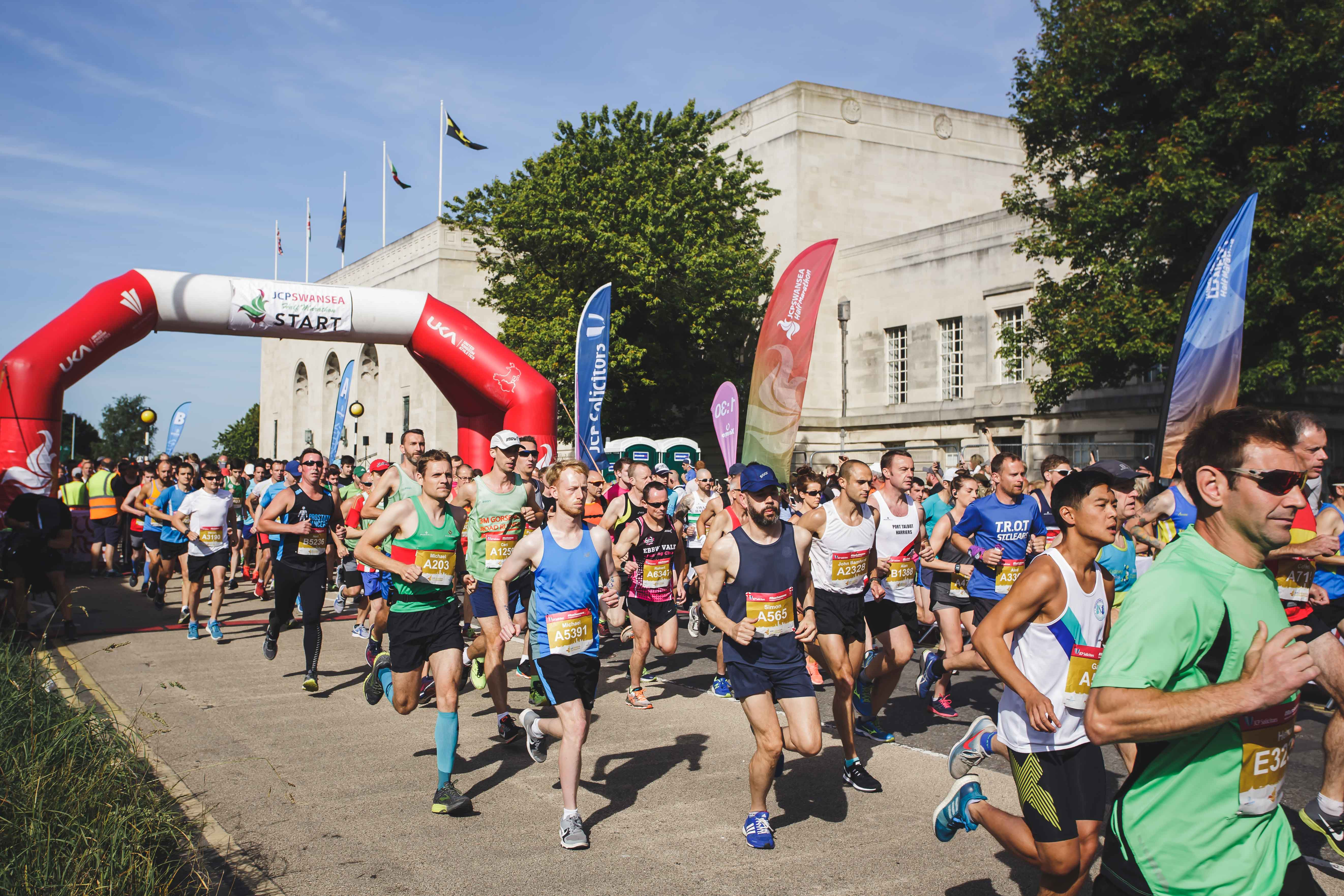 Event Review:  The JCP Swansea Half Marathon – FIFTH Anniversary Race Smashes All Course Records