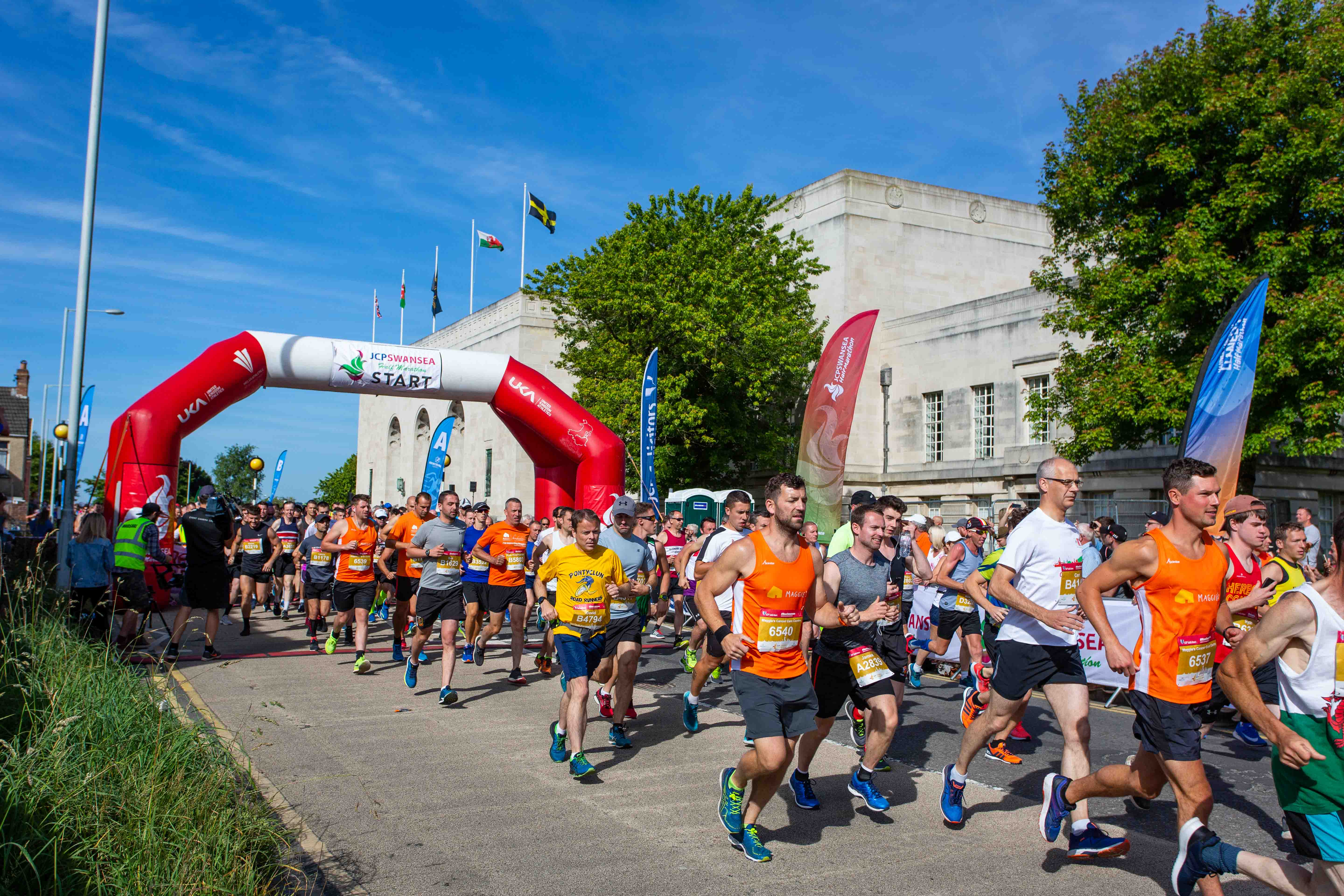 Maggie's Swansea Partners Up With The JCP Swansea Half Marathon For A Second Year…